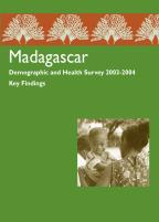 Cover of Madagascar DHS, 2003-04 - Key Findings (English, French)