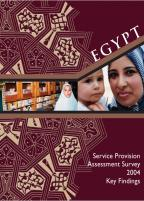 Cover of Egypt MCH SPA, 2004 - SPA Key Findings (English)