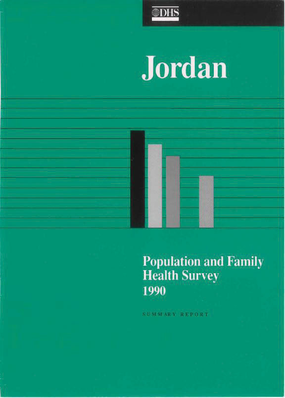 Cover of Jordan DHS, 1990 - Summary Report (English)