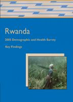 Cover of Rwanda DHS, 2005 - Key Findings (English, French)