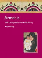 Cover of Armenia DHS, 2005 - Key Findings (English)