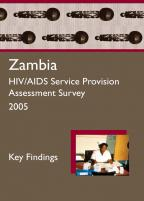 Cover of Zambia HIV SPA, 2005 - Key Findings (English)