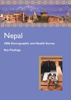 Cover of Nepal DHS, 2006 - Key Findings (English)