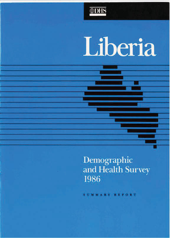 Cover of Liberia DHS, 1986 - Summary Report (English)