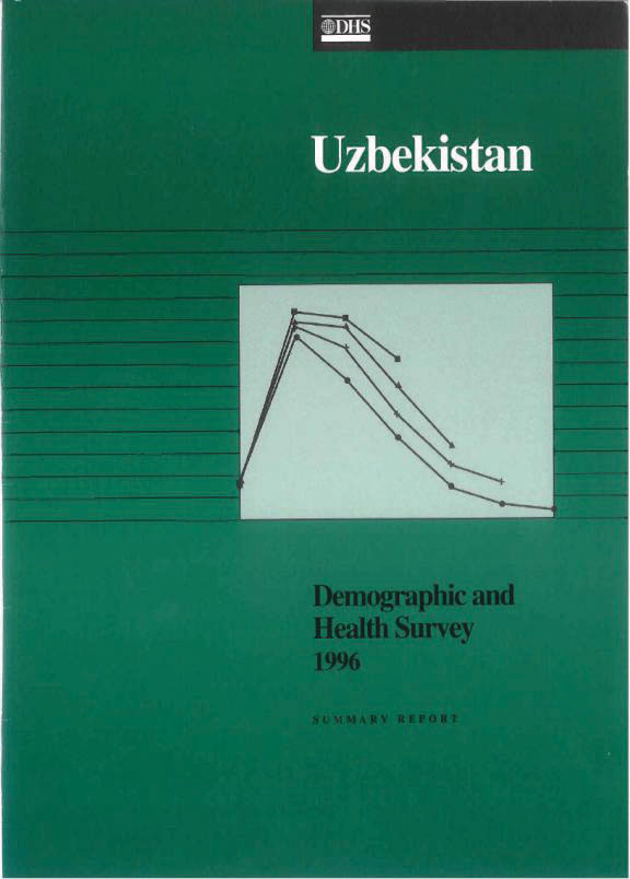 Cover of Uzbekistan DHS, 1996 - Summary Report (English)