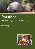 Cover of Swaziland DHS, 2006-07 - Key Findings (siSwati) (English)