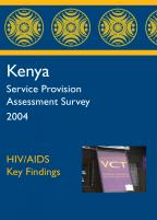 Cover of Kenya SPA, 2004 - Key Findings - HIV/AIDS (English)