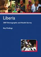 Cover of Liberia DHS, 2007 - Key Findings (English)
