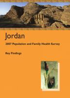 Cover of Jordan DHS, 2007 - Key Findings (English)