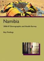 Cover of Namibia DHS, 2006-07 - Key Findings (English)