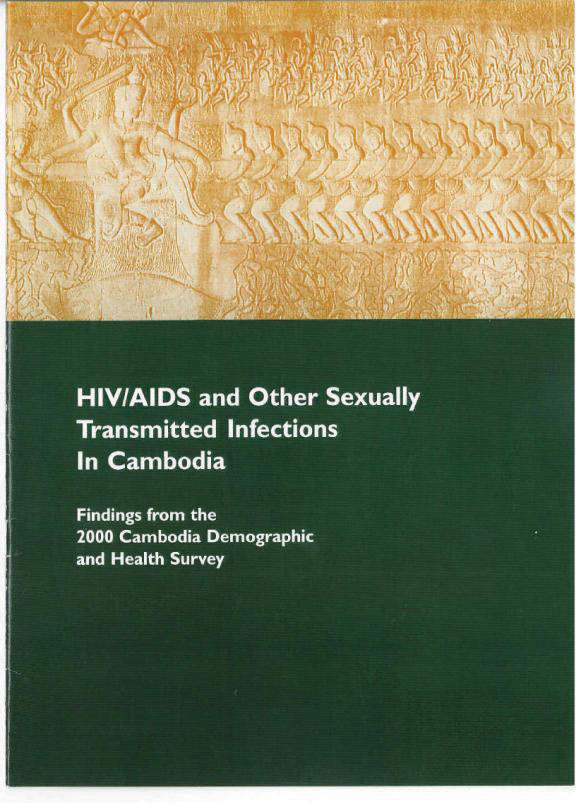 Cover of Cambodia DHS, 2000 - HIV/AIDS and Other Sexually Transmitted Infections in Cambodia (English)