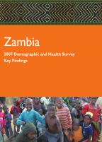 Cover of Zambia DHS, 2007 - Key Findings (English)