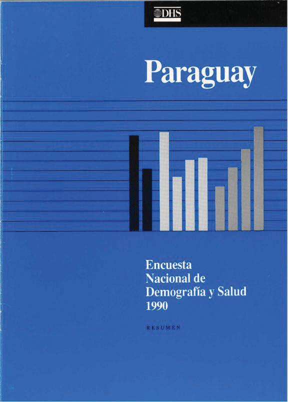 the dhs program paraguay dhs 1990 paraguay encuesta nacional