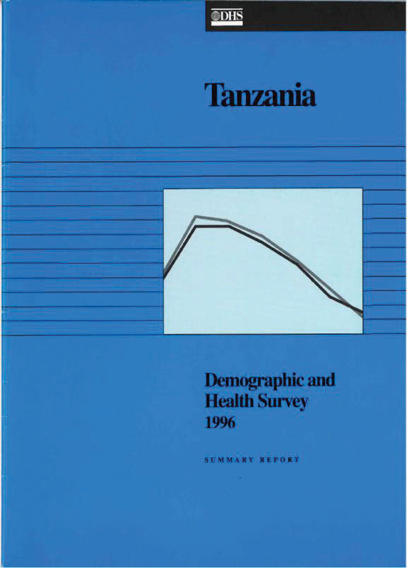 Cover of Tanzania DHS, 1996 - Summary Report (English)