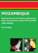 Cover of Mozambique AIS, 2009 - Key Findings (English, Portuguese)
