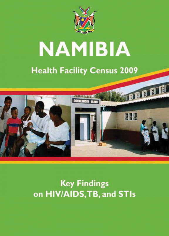 Cover of Namibia SPA, 2009 - Key Findings on HIV/AIDS (English)