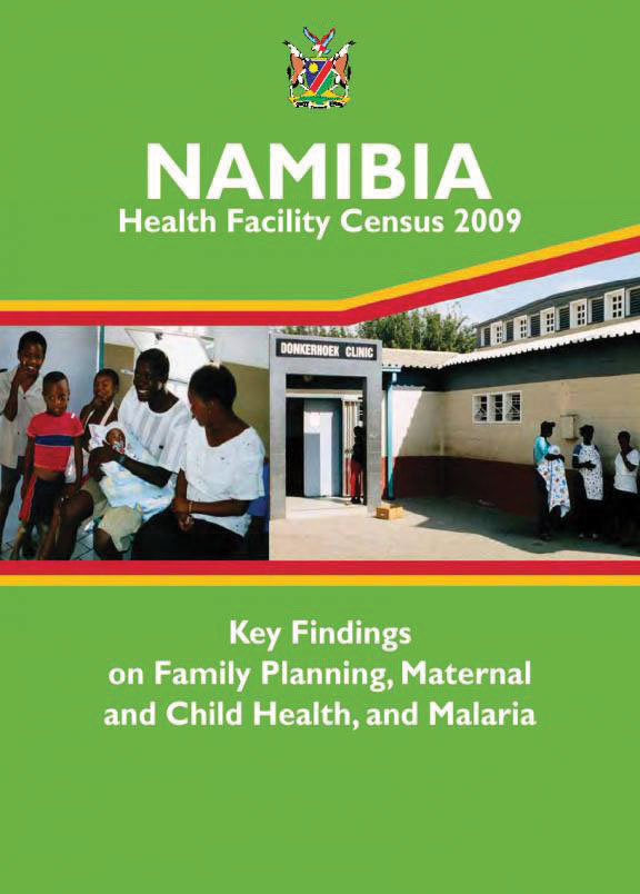 Cover of Namibia HIV/MCH SPA, 2009 - Key Findings on FP and MCH (English)