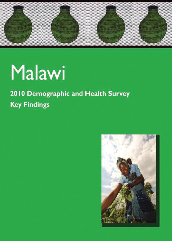 Cover of Malawi DHS, 2010 - Key Findings (English)