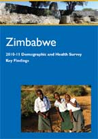 Cover of Zimbabwe DHS, 2010-11 - Key Findings (English)