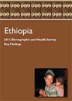 Cover of Ethiopia DHS, 2011 - Key Findings (English)