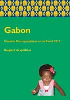Cover of Gabon DHS, 2012 - Key Findings (French)