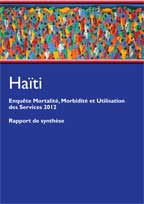 Cover of Haiti DHS, 2012 - Key Findings (English, French)