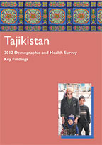 Cover of Tajikistan DHS, 2012 - Key Findings (Russian) (English)