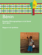 Cover of Benin DHS, 2011-12 - Key Findings (French)