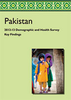 Cover of Pakistan DHS, 2012-13 - Key Findings (English)