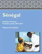 Cover of Senegal DHS, 2012-13 - Continuous DHS and SPA 2012-13 - Key Findings (English, French)