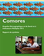 Cover of Comoros DHS, 2012 - Key Findings (French)