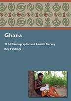 Cover of Ghana DHS, 2014 - Key Findings (English)
