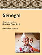 Cover of Senegal DHS, 2014 - Key Findings (French)
