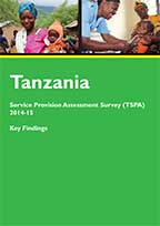 Cover of Tanzania SPA, 2014-15 - Key Findings (English)