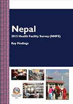 Cover of Nepal SPA, 2015 - Key Findings (Nepali) (English)