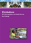 Cover of Zimbabwe DHS, 2015 - Key Findings (English)