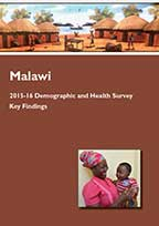Cover of Malawi DHS, 2015-16 - Key Findings (English)