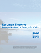 Cover of Colombia DHS, 2015 - Key Findings (Spanish)