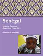 Cover of Senegal DHS, 2016 - Continuous DHS and SPA 2016 - Key Findings (French)