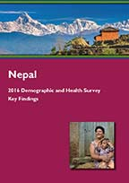 Cover of Nepal DHS, 2016 - Key Findings (Nepali) (English)