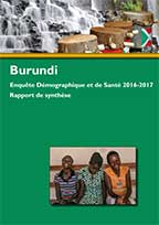 Cover of Burundi DHS, 2016-17 - Key Findings (French)