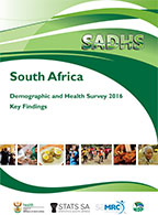 Cover of South Africa DHS, 2016 - Key Findings (English)