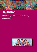 Cover of Tajikistan DHS, 2017 - Key Findings (English, Russian)