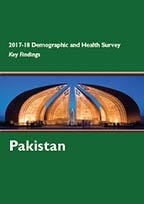 Cover of Pakistan DHS, 2017-18 - Key Findings (English)