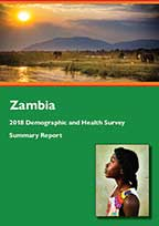 Cover of Zambia DHS, 2018 - Summary Report (English)