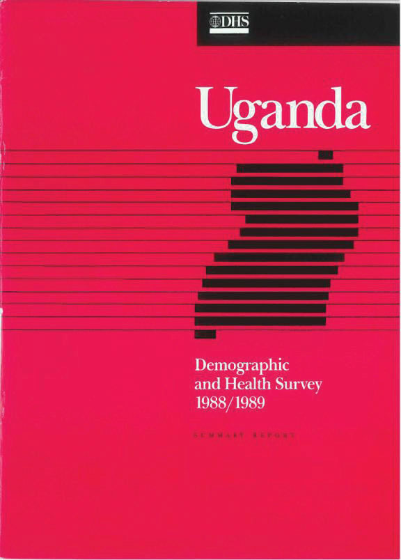 Cover of Uganda DHS, 1988-89 - Summary Report (English)