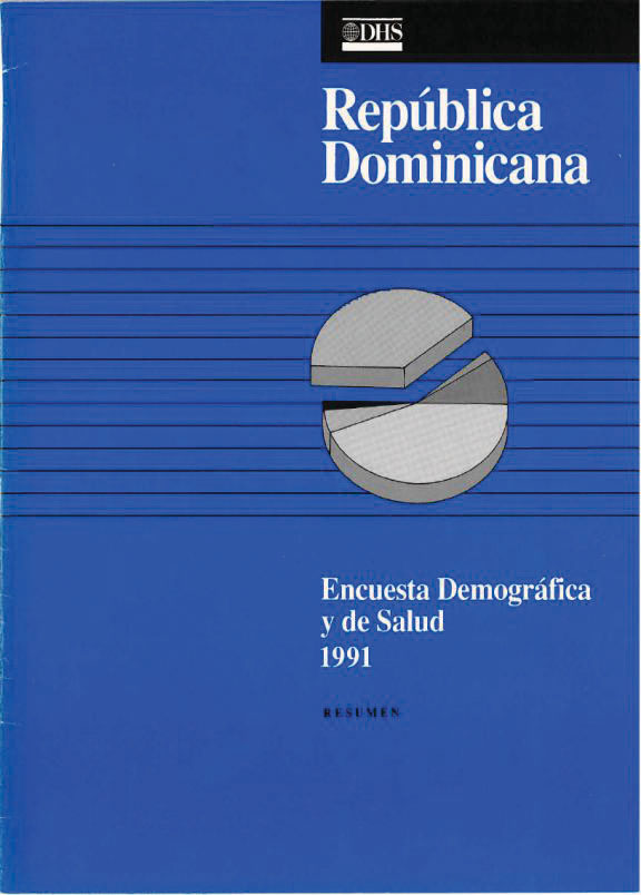 Cover of Dominican Republic DHS, 1991 - Summary Report (Spanish)
