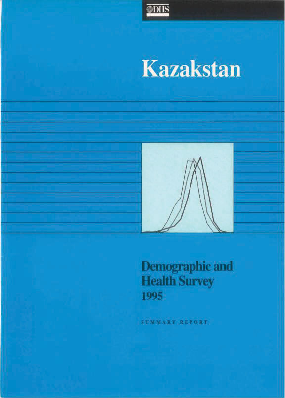 Cover of Kazakhstan DHS, 1995 - Summary Report (English)