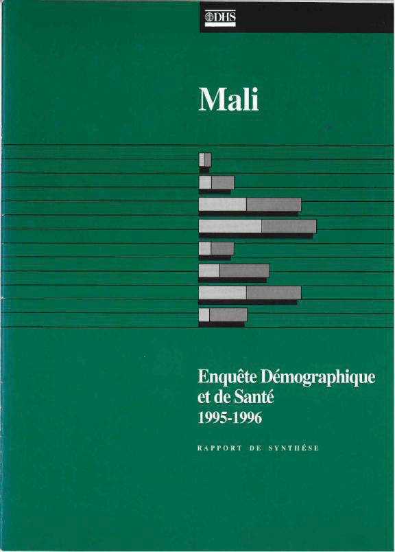 Cover of Mali DHS, 1995-96 - Summary Report (French)