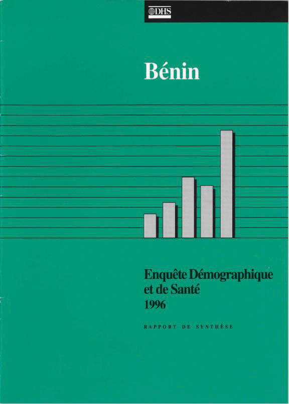 Cover of Benin DHS, 1996 - Summary Report (French)